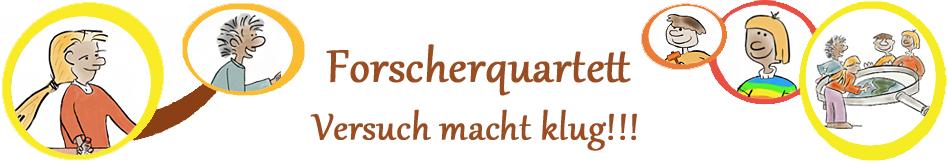 Blog von Andreas Blümel und dem Forscherquartett
